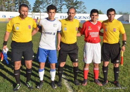 Beltran asistentes y capitanes. Foto Victor D Rodriguez