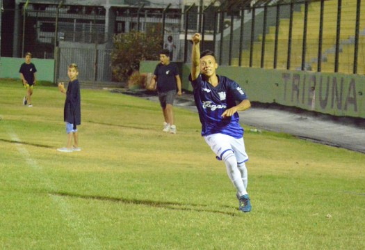 Leandro Dalmao goleador Sub 17. Foto Ernesto Hornos