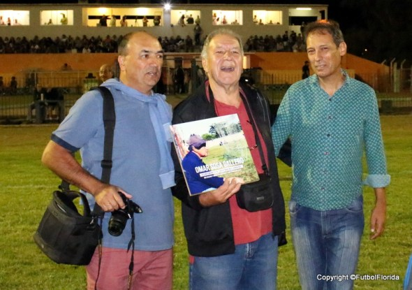 Jorge Pato Peraza, Omar Sosa y Alcalde Aguas Corrientes Alvaro Alfonso. Foto Emilia Spinelli