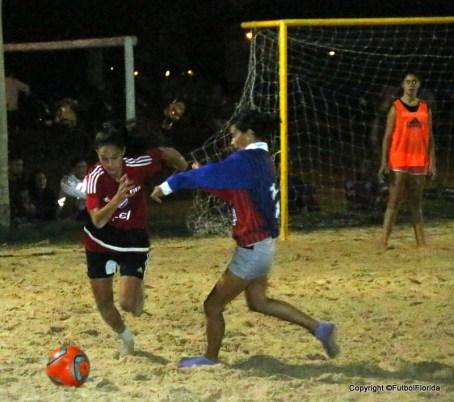 Con todo se jugó el partid La Calzada-San Lorenzo