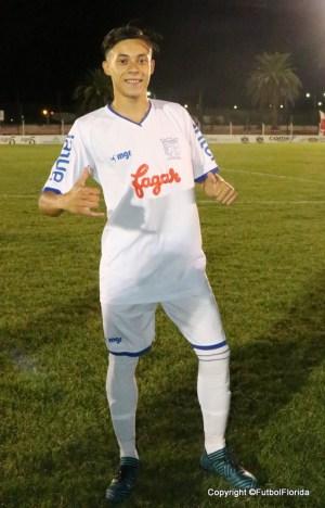 Dalmao fue el goleador de Juveniles