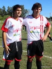 Enzo Tristant y Ramiro Ferrer
