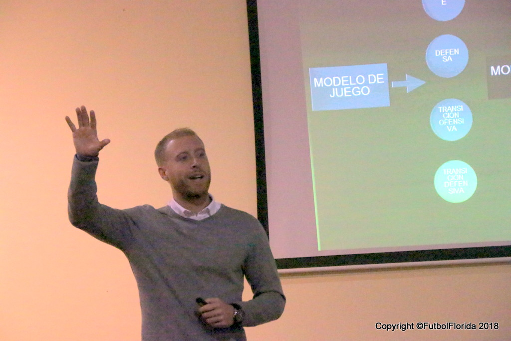 El Lic. Nicolás Maidana expuso sobre el uso del GPS en fútbol