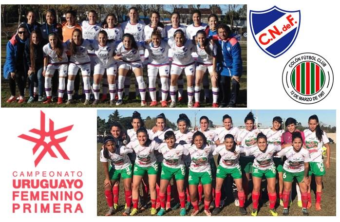 Femenino. Colón y Nacional definen el Apertura