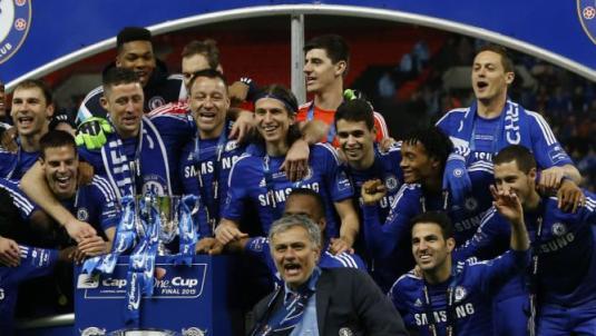 Britain Soccer League Cup Final