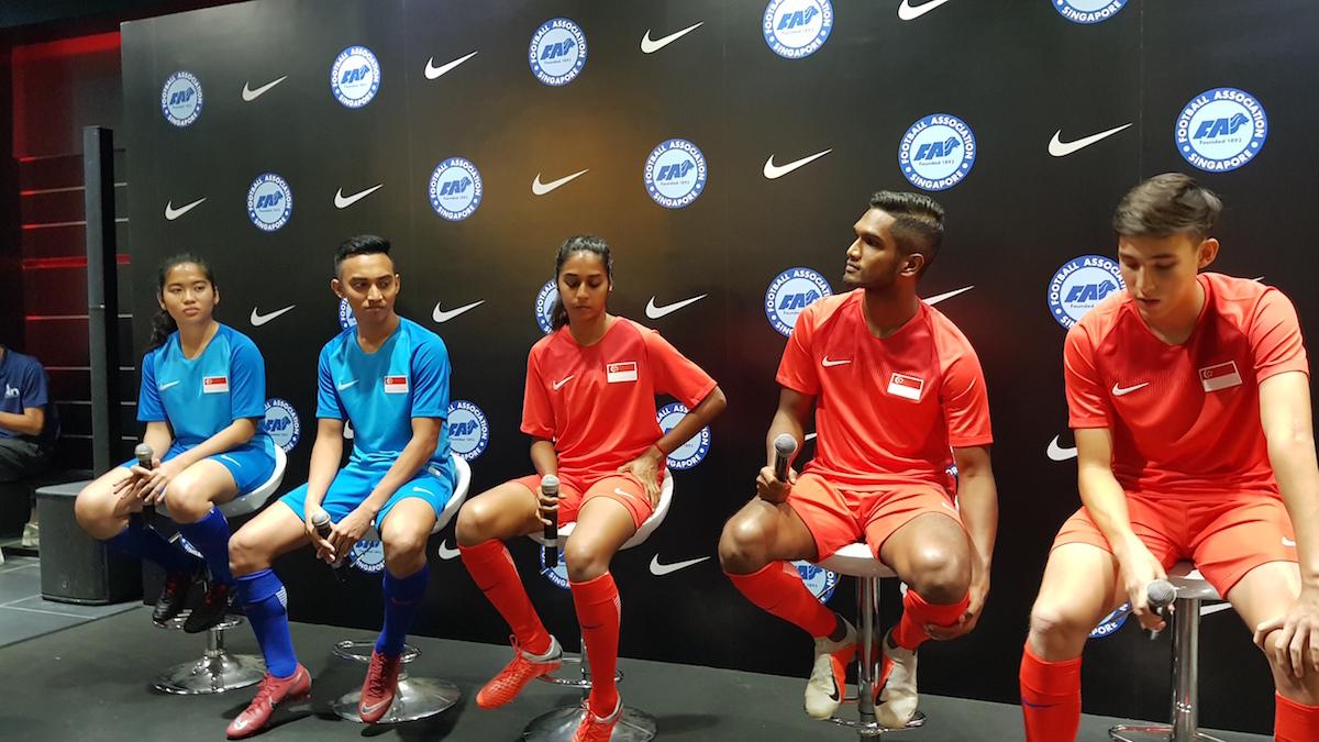sports shoes 5527b 9c30e Nike x Singapore Kit Launch - Futbolita