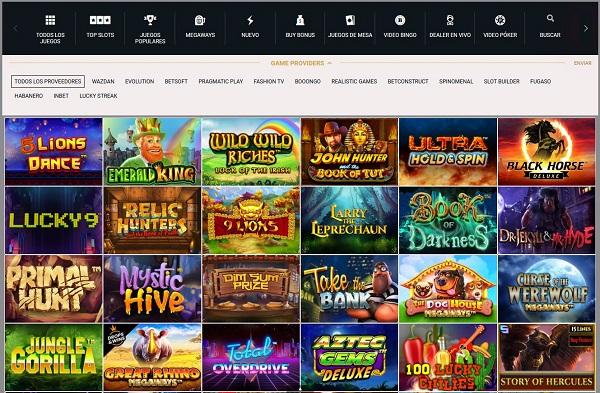 Juegos de casino online Betsala