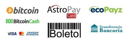 Métodos de pago en Bodog
