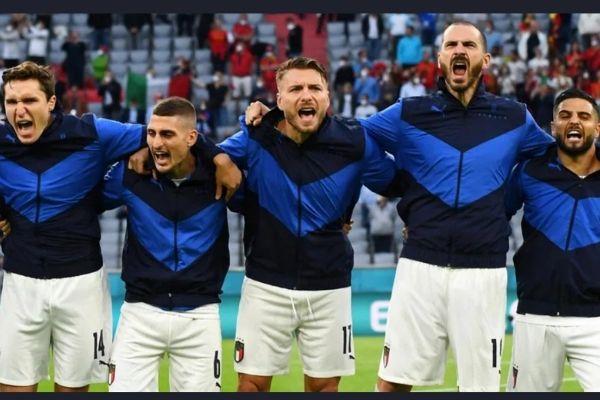 Italia vs Inglaterra en la final de la Eurocopa