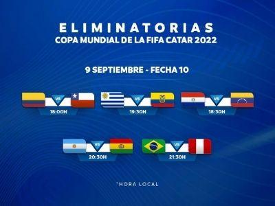 eliminatorias sudamericanas jornada 10 catar