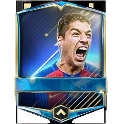 Luis Surez 98 FIFA Mobile 17 Futhead
