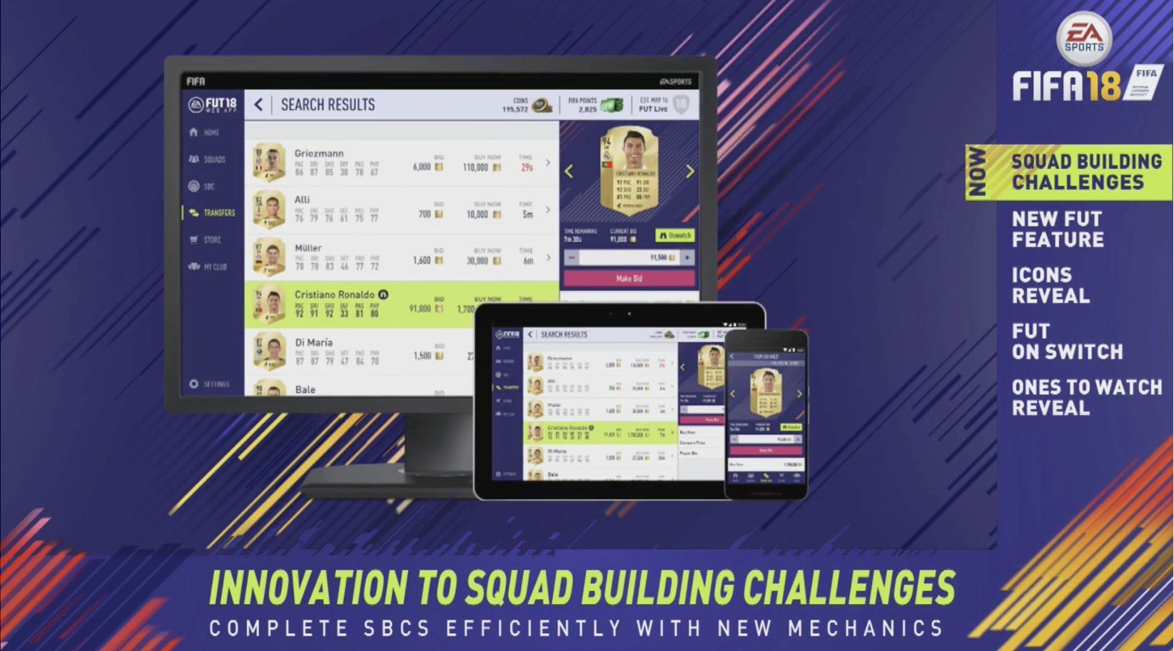 A new Web app (and Daily Objectives) are coming to FIFA 18 - Futhead News