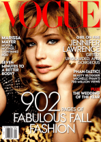 VOGUE USA: JENNIFER LAWRENCE