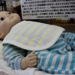 赤ちゃん、寝られませんよ。拷問です(>