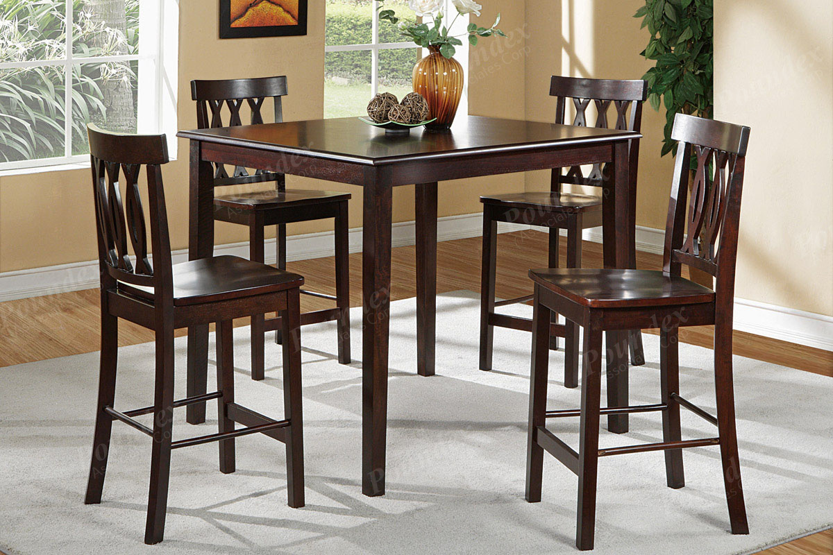 Dining Room Chairs Set Of 4 5 Pcs Dining Set F2259 Counter Height