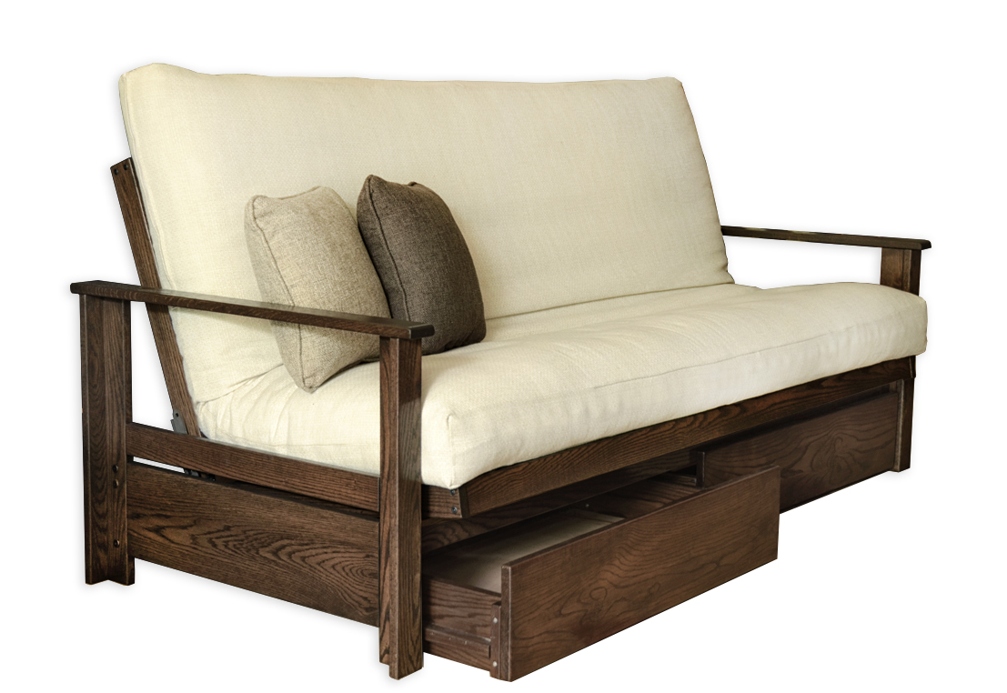 Sherbrooke Oak Futon Frame  Futon D'or & Natural