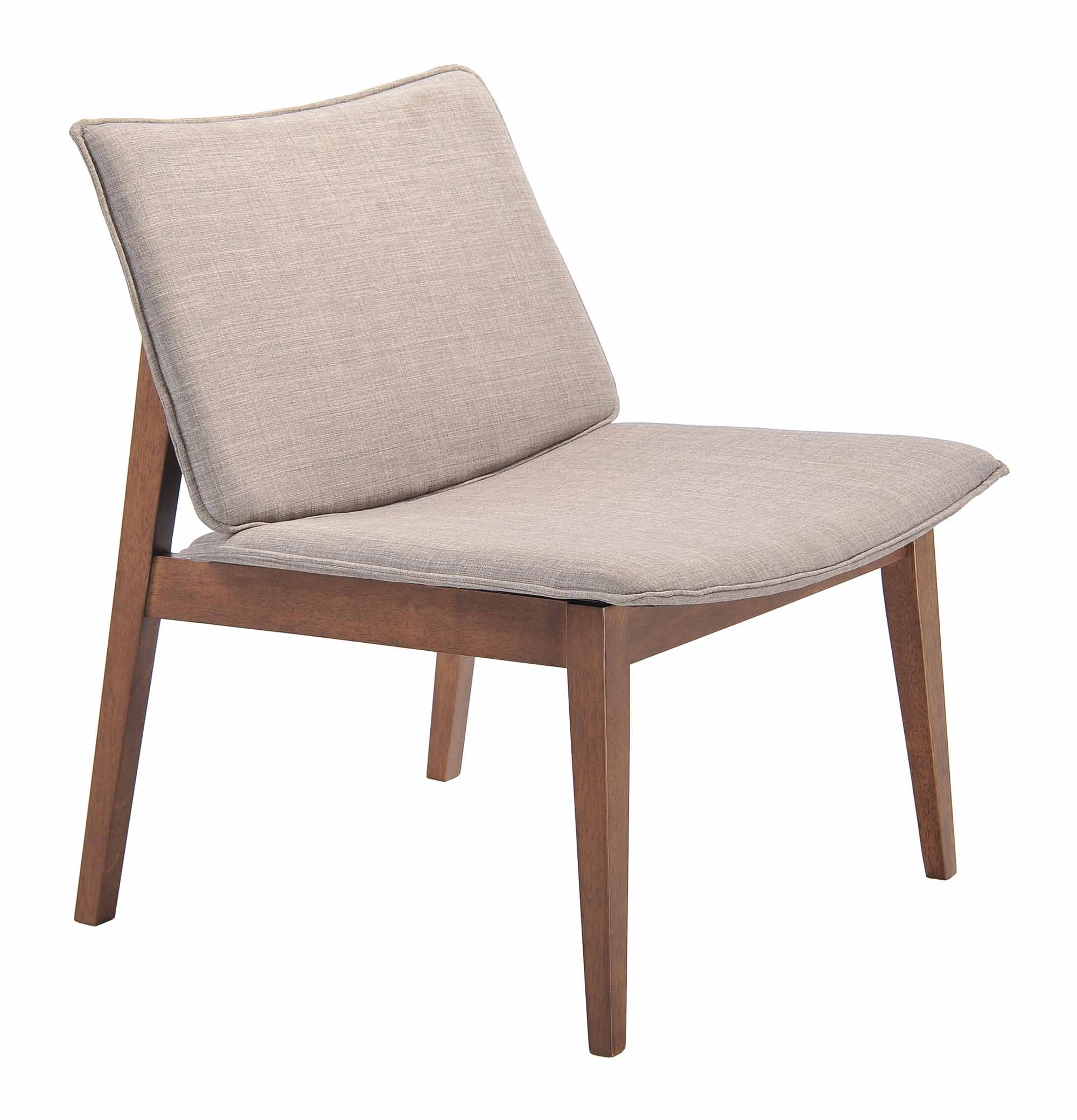 large occasional chairs padded folding with arms little havana chair dove gray set of 2 by zuo