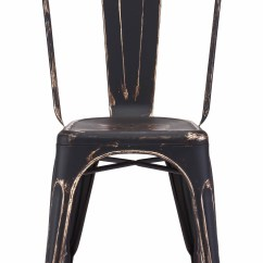 Gold Dining Chairs Shower Chair For Elderly Elio Anti Black Set Of 2 By Zuo Modern