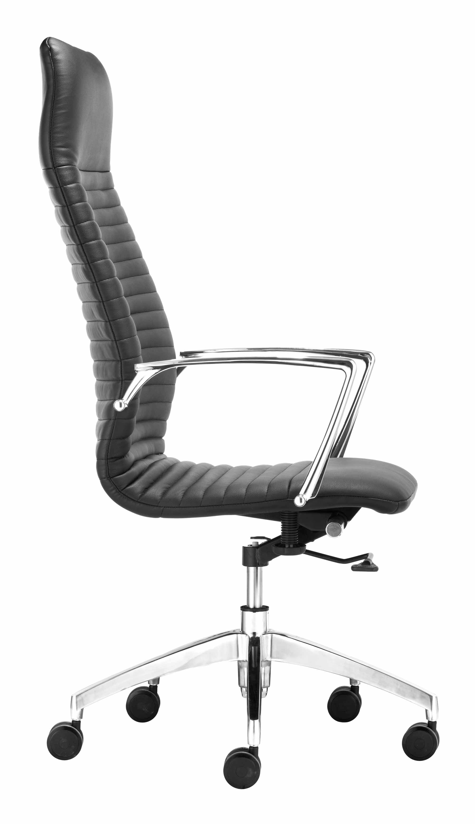 Lion Chair Lion High Back Office Chair Black By Zuo Modern