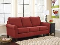 Zeth Crimson Queen Sofa Sleeper Signature Design by Ashley ...