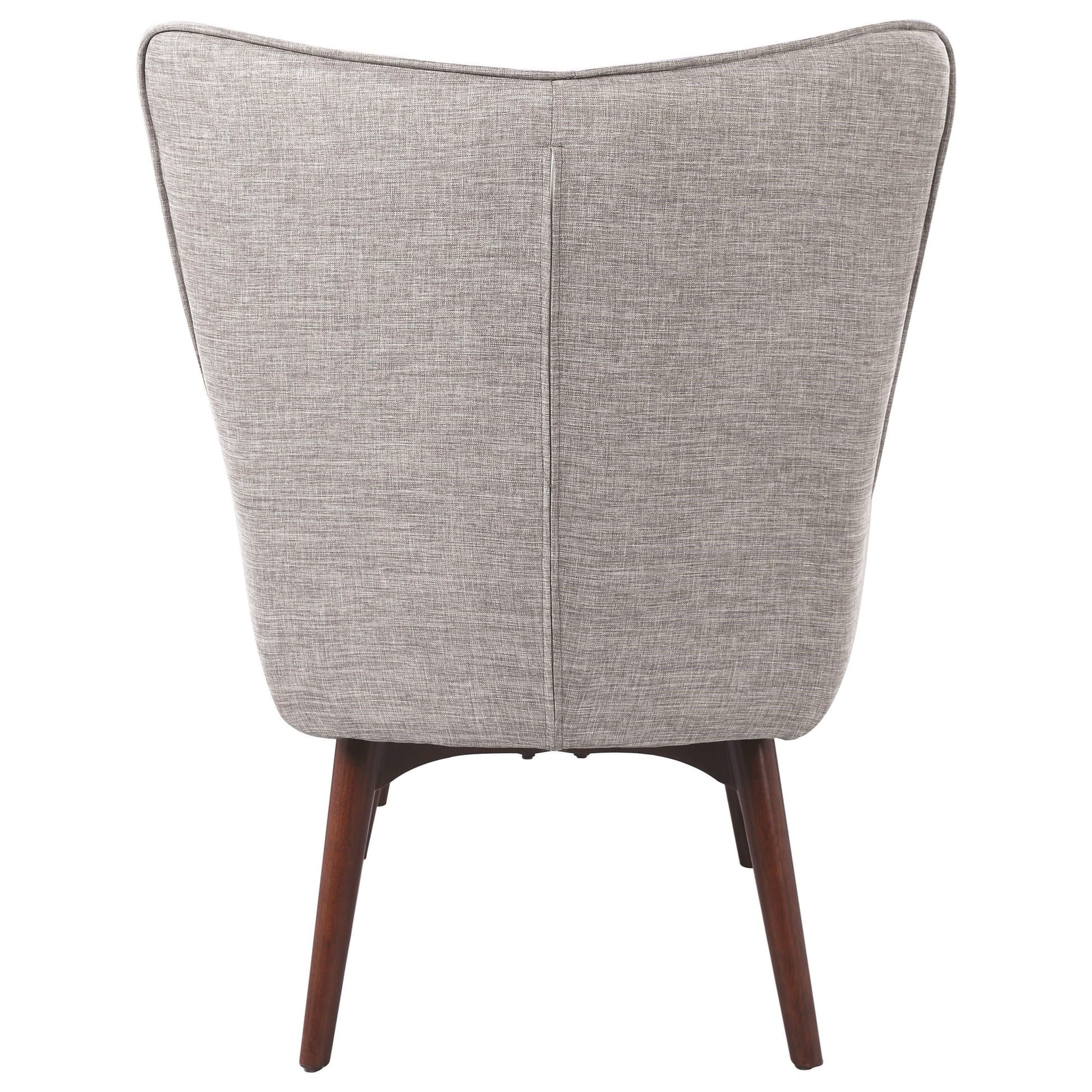 gray accent chair with ottoman outdoor cafe chairs 903820 light by scott living