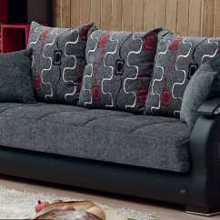 Empire Furniture Sofa Rattan Corner Homebase Arizona Gray Fabric Bed By Usa