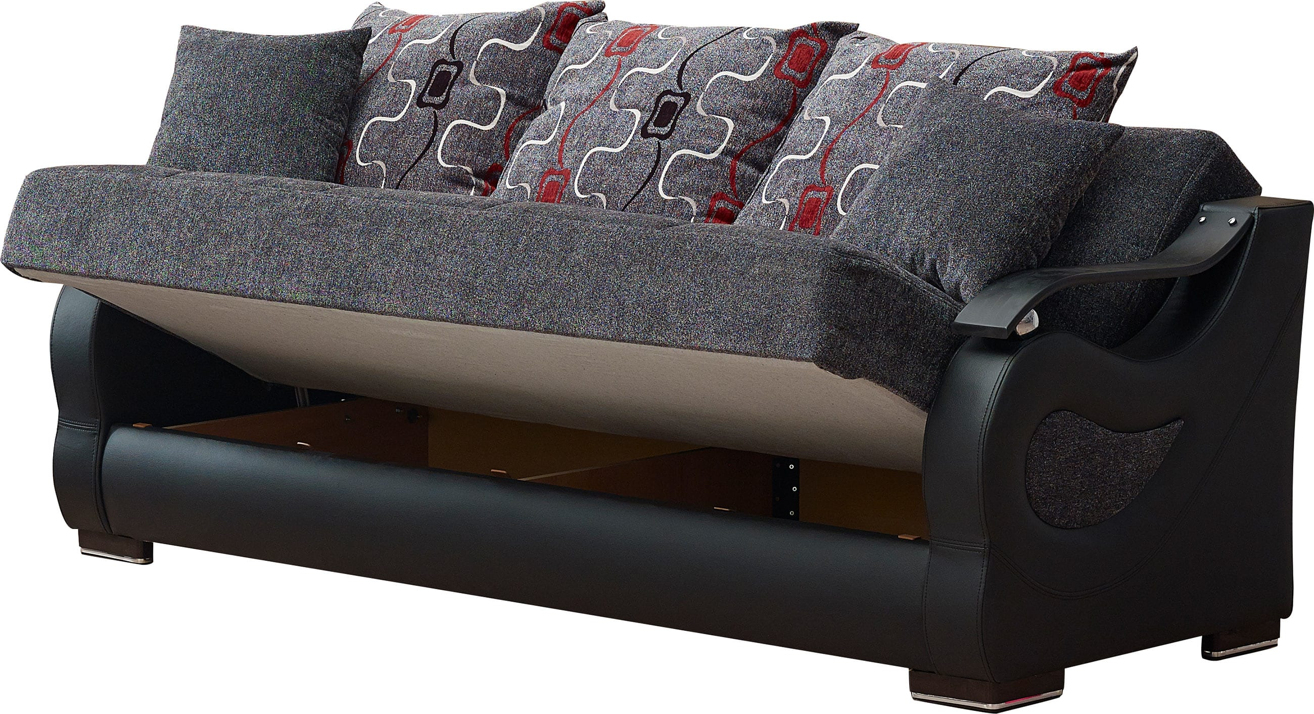sofa beds phoenix arizona small sectional apartment therapy gray fabric bed by empire furniture usa
