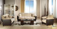 Aspen Soft Cream Sofa, Love & Chair Set by Sunset