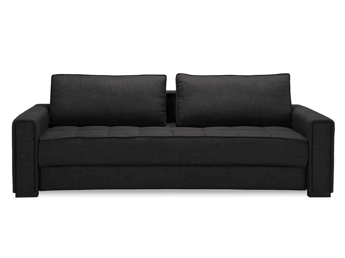sofa sleeper clearance best sectional for family ascott convertible dark grey by serta / lifestyle ...