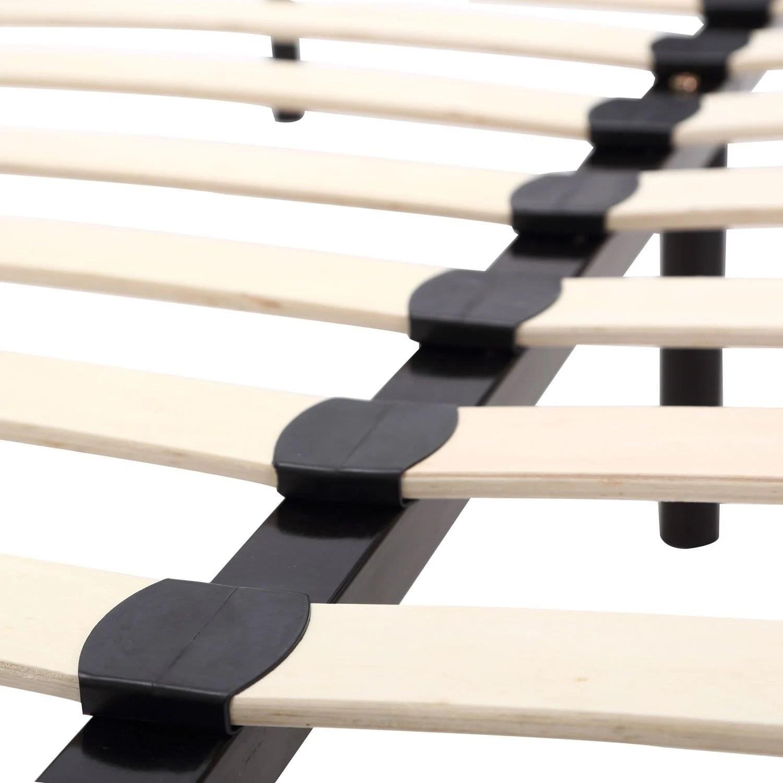 full size sofa bed mattress dimensions economical sets wooden platform frame by esf