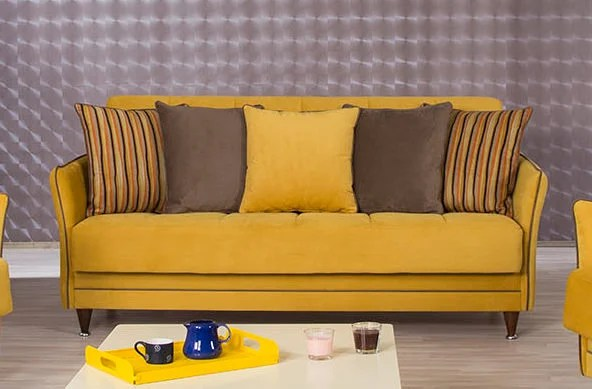 serta sofa sleeper full size sofas uk dfs bellina diamond mustard convertible bed by casamode