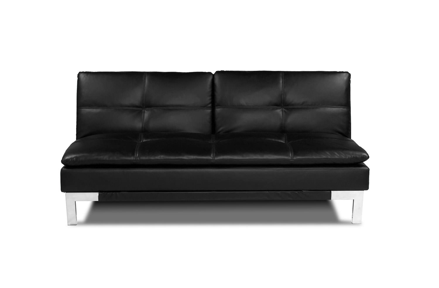 sectional convertible sofa dog bed skymall brenem black by serta lifestyle