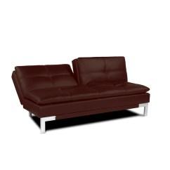 Convertible Sofa Beds New York Rustic Bed Brenem Medium Brown By Serta Lifestyle