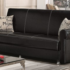 Argos Brooklyn Sofa Large Full Grain Leather Sale Black Bed By Empire Furniture Usa