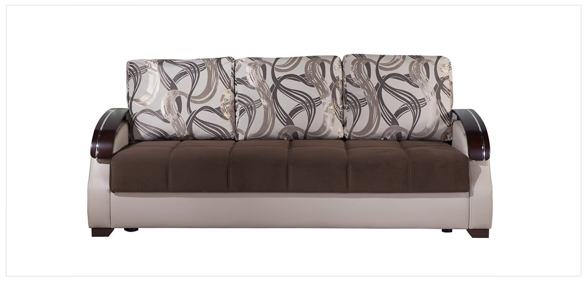best sofa bed for living room cool colors paint costa brown convertible by istikbal sunset