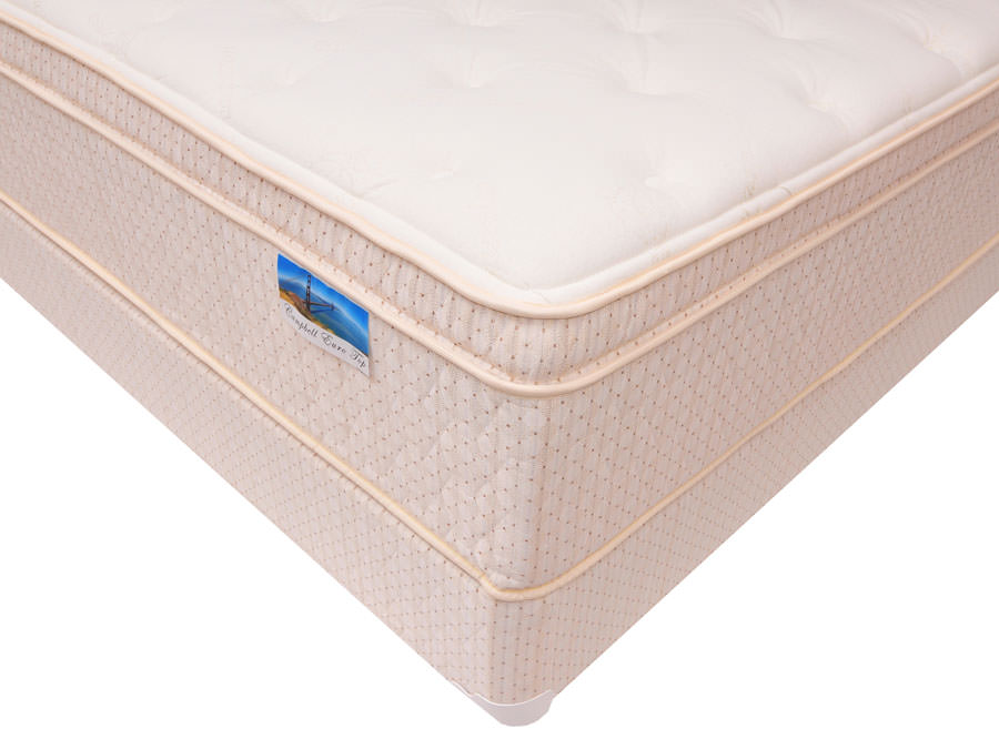 Layton 15 Inch Euro Top Pocketed Coils Mattress By Corsicana