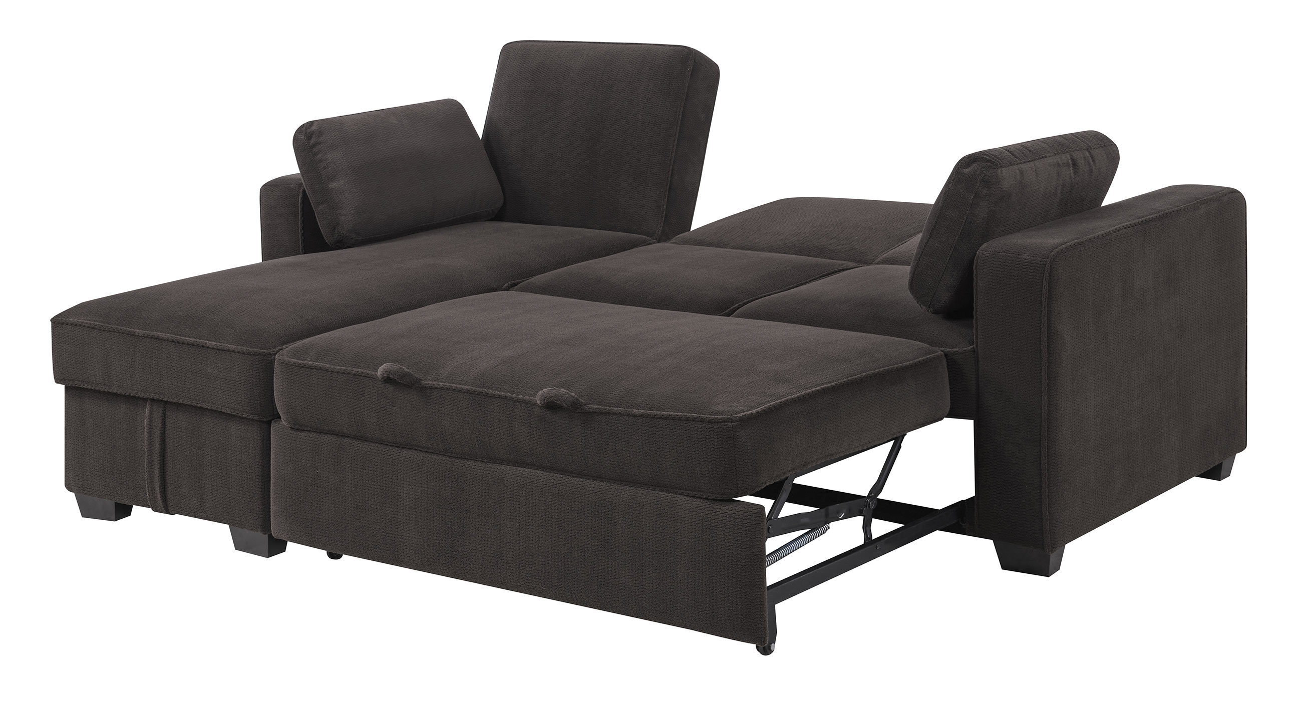 daria serta gray convertible sofa single futons beds chaela sectional dark grey by