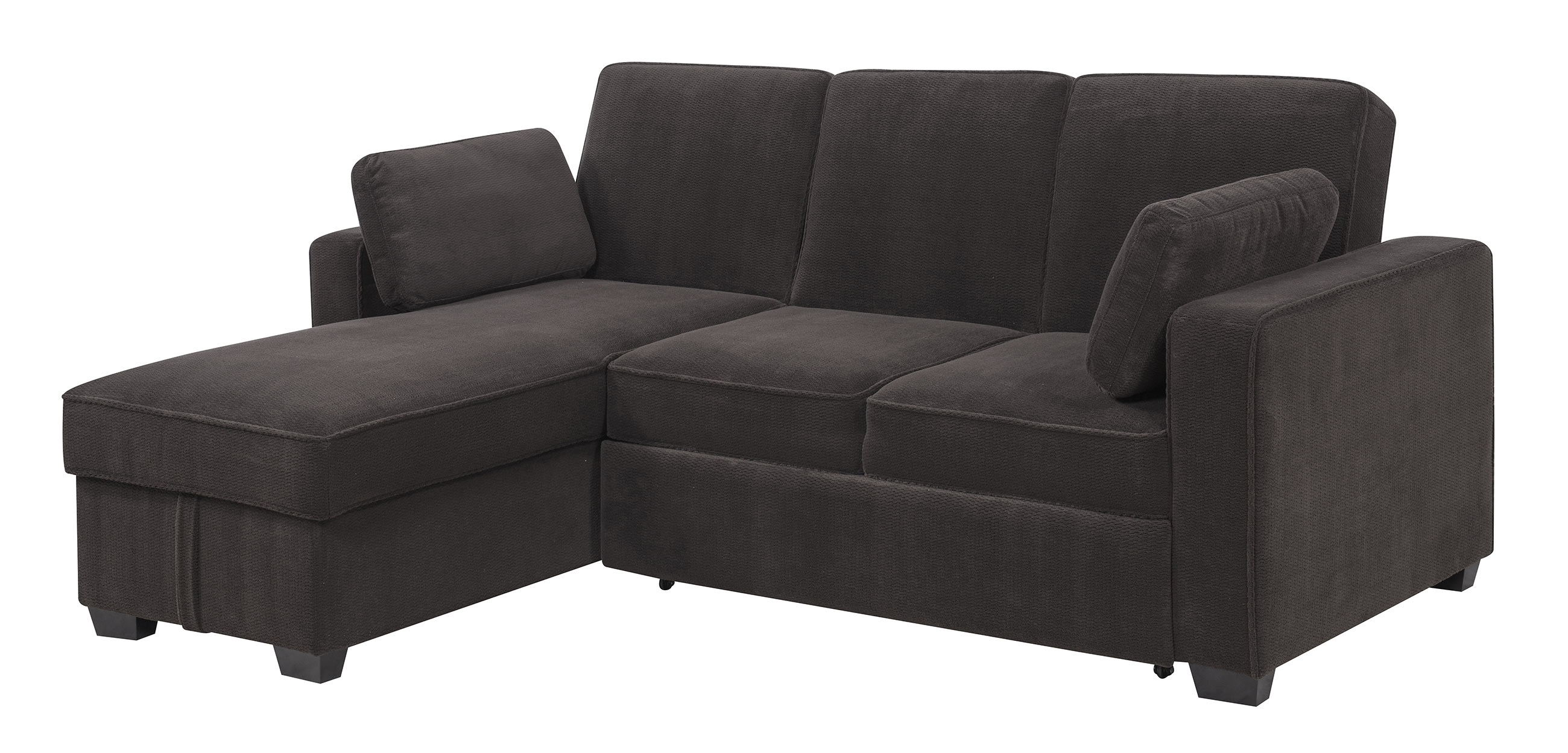daria serta gray convertible sofa sitting pretty sofas chaela sectional dark grey by