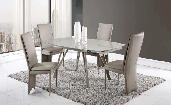 Global Furniture Glass Dining Table
