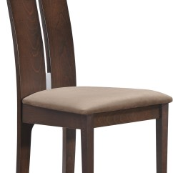 Dark Walnut Dining Chairs Wood Beach Chair D2403dc Set Of 2 By Global