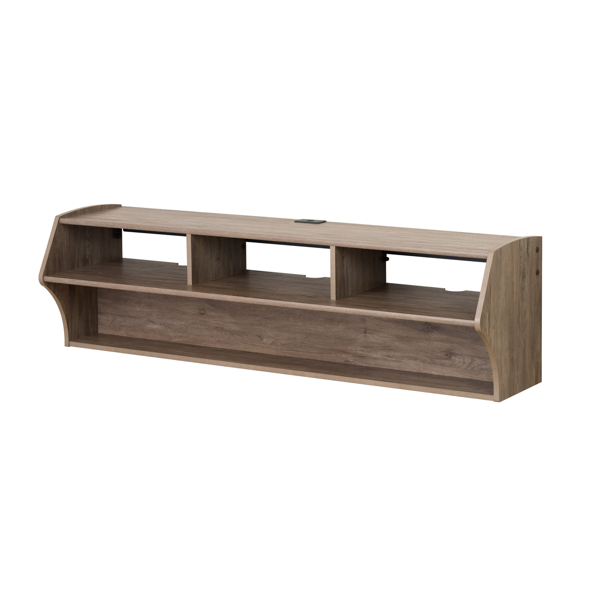 Altus Plus 58 Inch Floating TV Stand by Prepac
