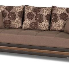 Dream Sofa Bed Contemporary Futon Sleeper Decor Brown Convertible By Casamode