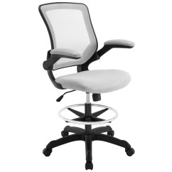 Modern Drafting Chair Ergonomic Folding Chairs Veer Gray By Living Tap To Expand