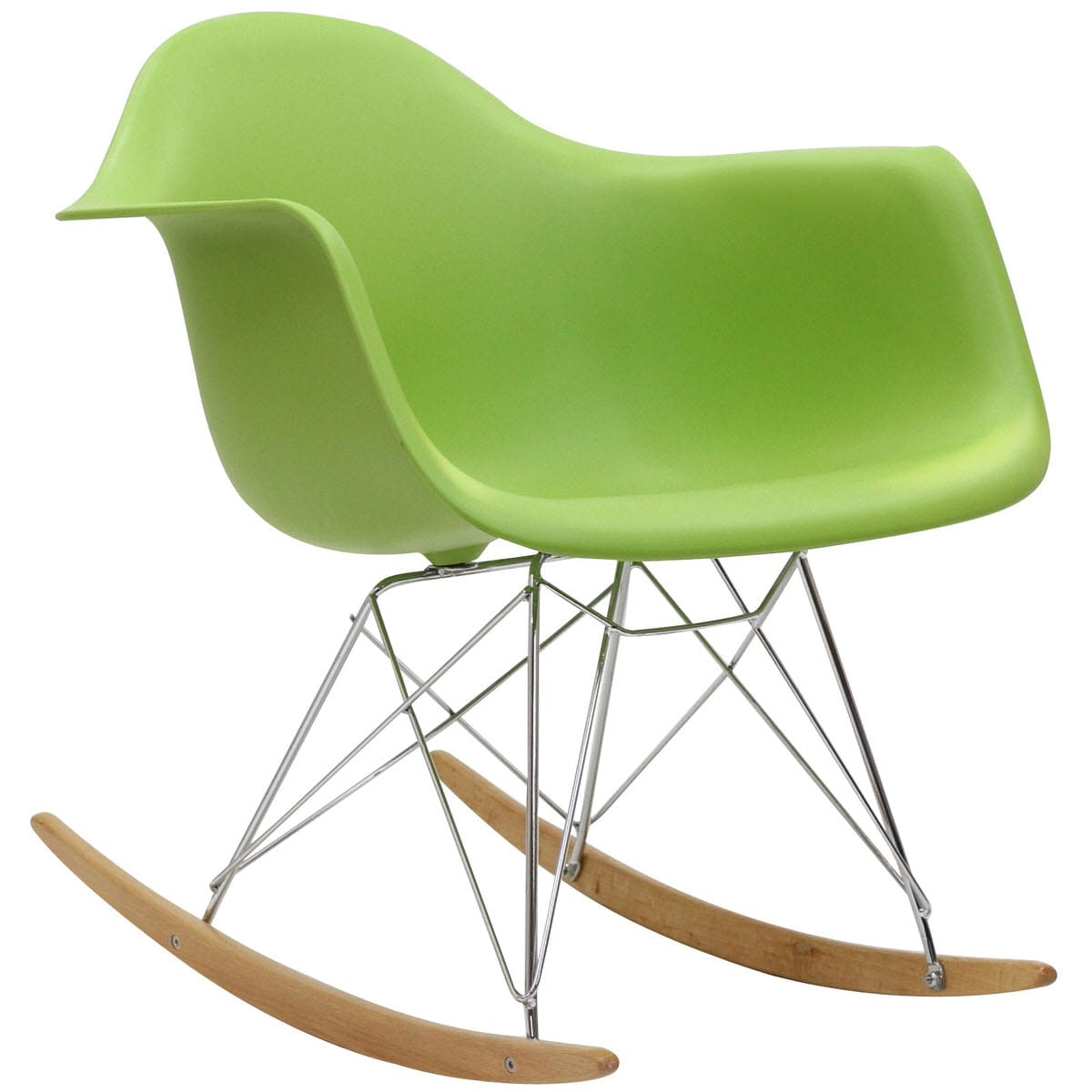 Plastic Lounge Chair Rocker Pp Plastic Lounge Chair Green By Modern Living