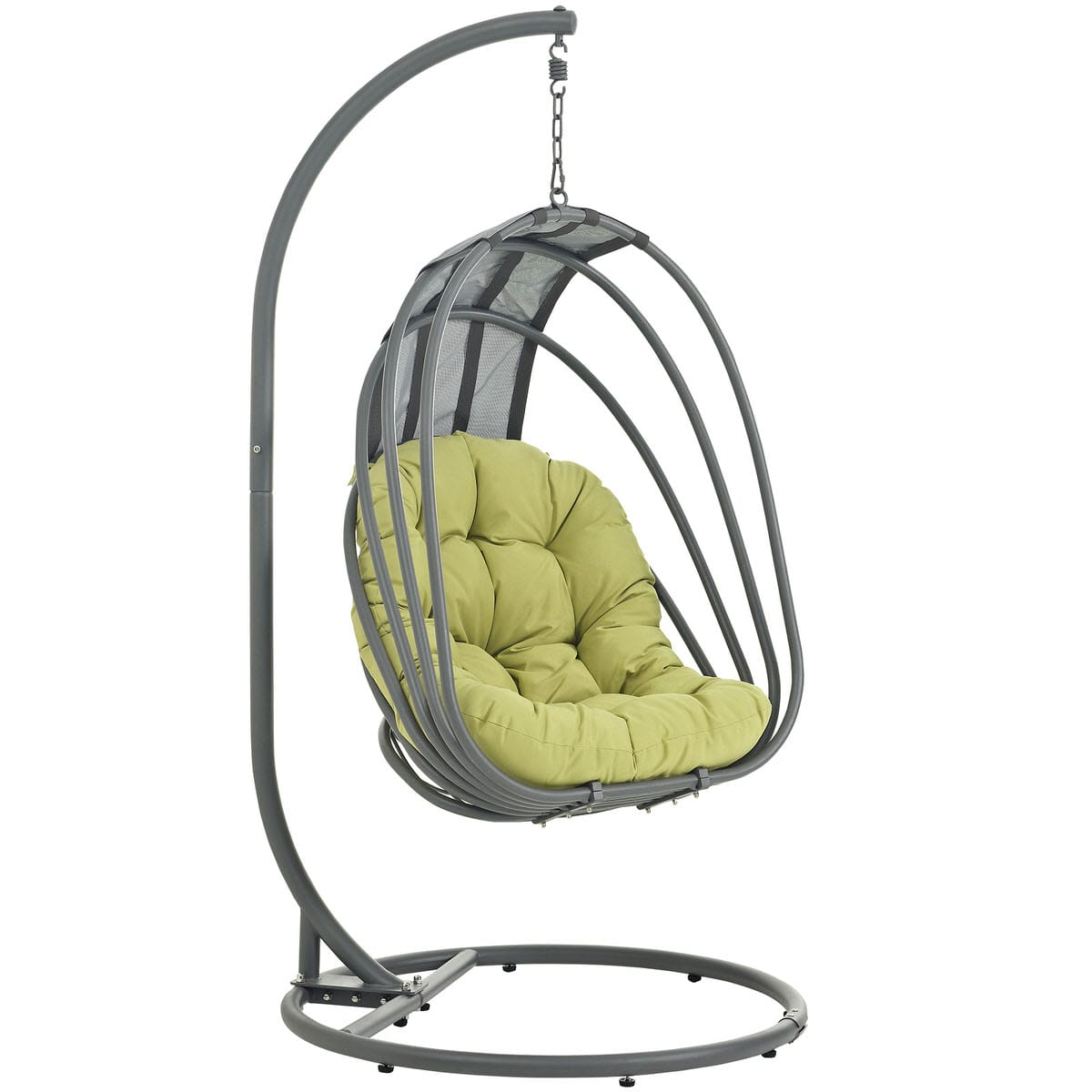 swing chair name circle bamboo whisk outdoor patio with stand peridot by