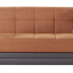 Kenzey Sofa Bed Full Sleeper Chaise Long Con Cama Fabric Divani Casa Rixton Mid Century Grey