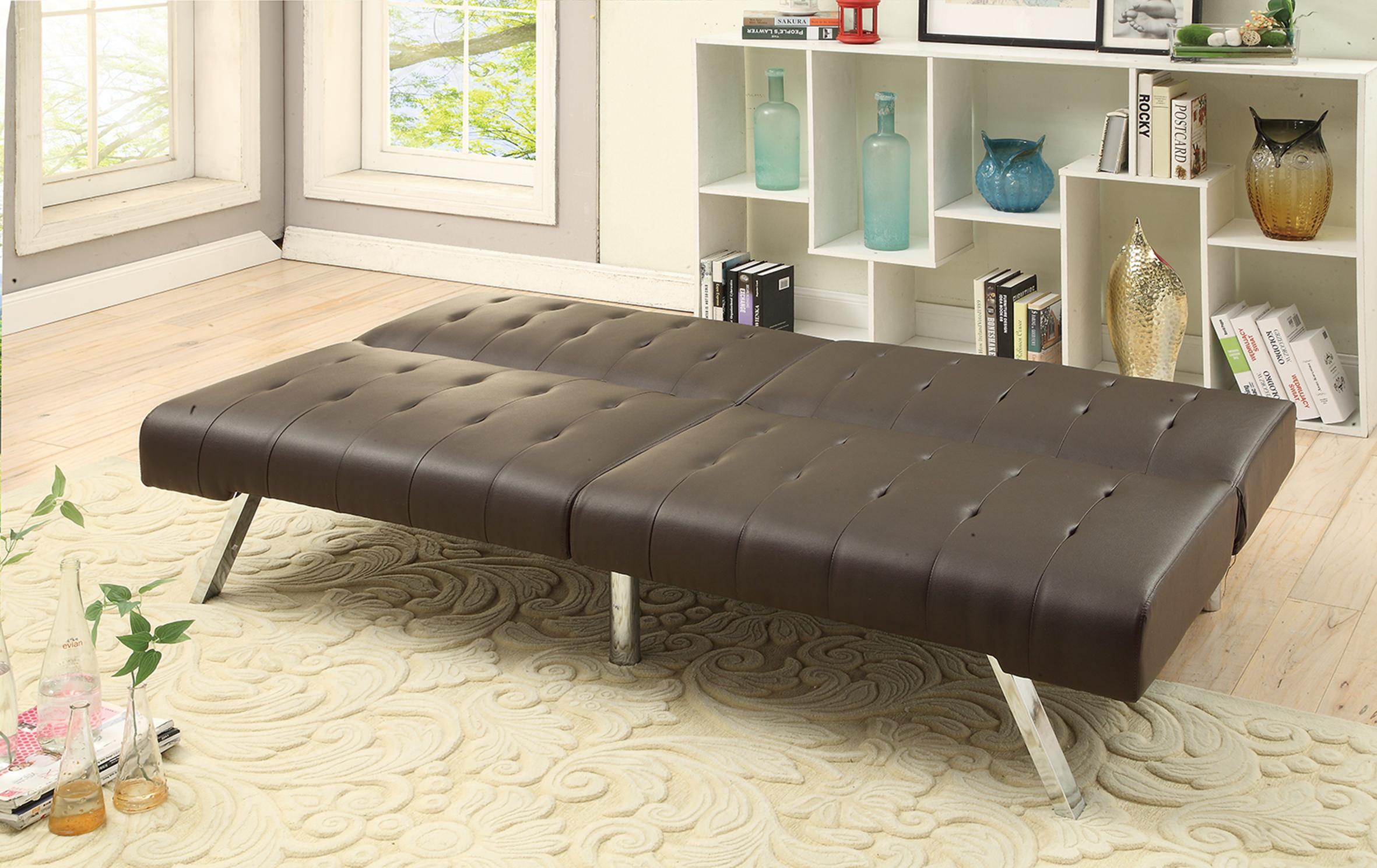 index mulberry sofa bed fundas para sofas baratas carrefour f6823 espresso convertible by poundex