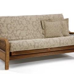 Futon And Chair Set Short Directors Wicker Home Decor