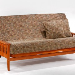 Futon And Chair Set Danish Modern Rocking Kingston Standard Frame By Night Andday Furniture
