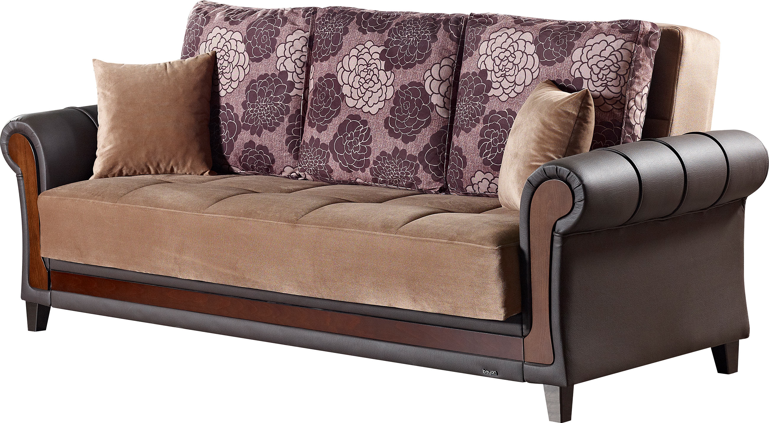 empire furniture sofa cheap tables idaho brown fabric bed by usa
